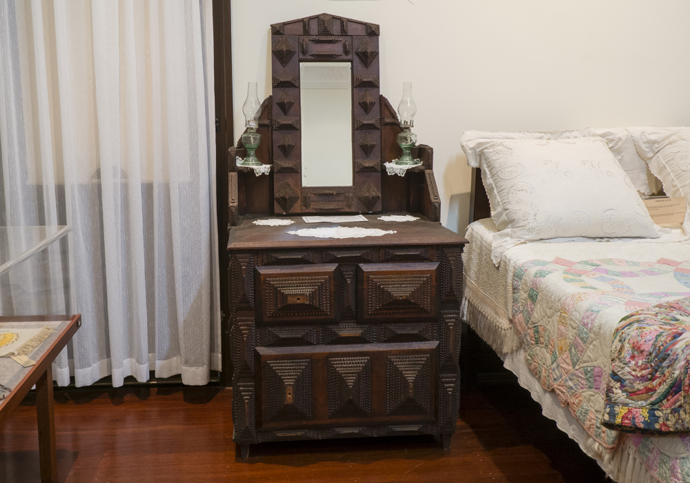 Dressing table c.1900. ~ Donated by the Gasper Family.