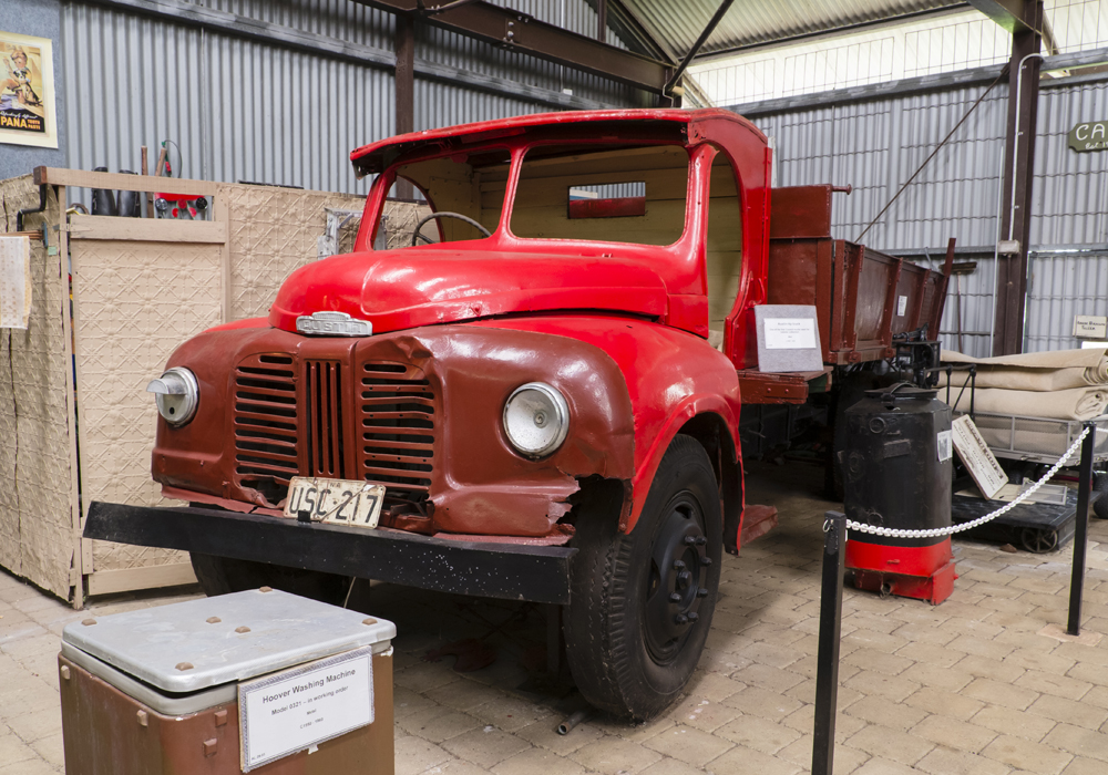 Austin tip truck, used for Council rubbish collection c.1939-1949.