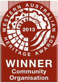 Heritage Awards Winner 2013